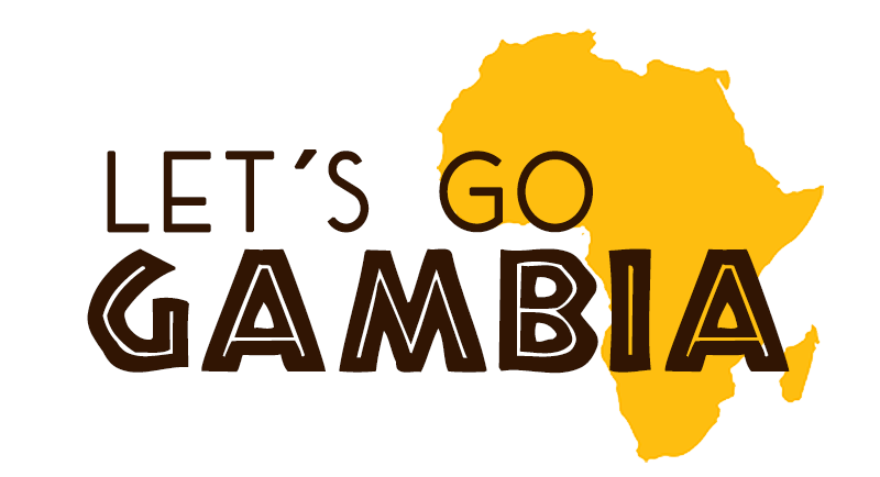 Logo lets go gambia