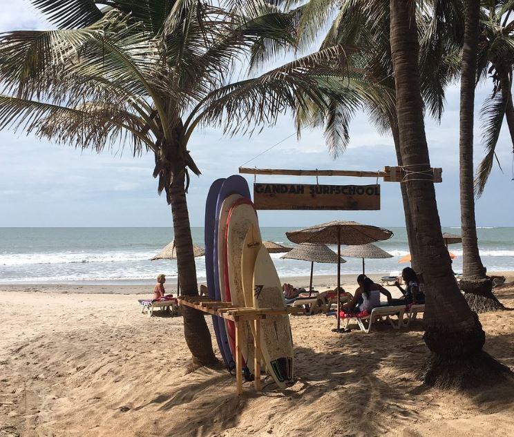 Surfschool Gambia