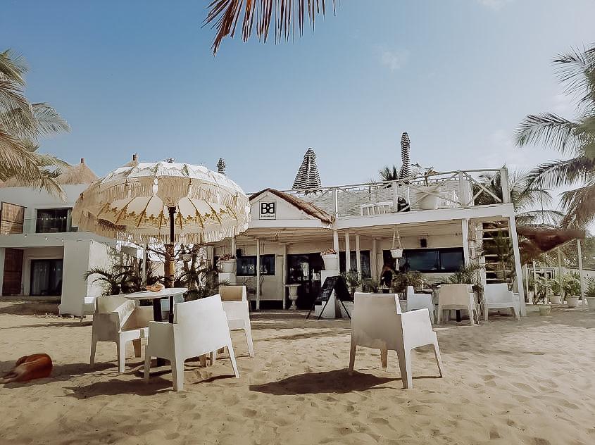 Barista Beach bar Gambia